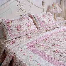 rose quilted bedding | Shabby Pink Rose Quilt Bedding | shabby ... & rose quilted bedding | Shabby Pink Rose Quilt Bedding | shabby chic bedroom  | Pinterest Adamdwight.com