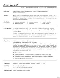Sample Resume Customer Service Representative Objective Fresh