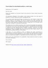 Email Cover Letters And Browse Cover Letter Sample Resume Attached