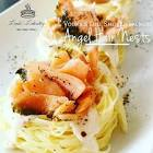 angel hair pasta with smoked salmon and dill
