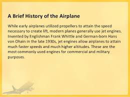 a brief history of the airplane image courtesy of the 3