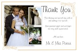 Wedding Thank You Note Wedding thank you note notes fresh inspiring what write in a card 1
