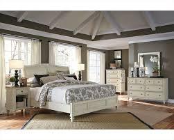 Sleigh Bed Bedroom Furniture Aspenhome Bedroom W Sleigh Bed Cottonwood Asi67 400 4set