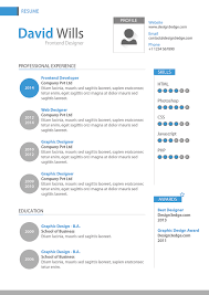 Professional Resume Template Design Psd Design3edge Com