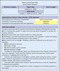 37 Brilliant Audit Report Format Examples : Thogati