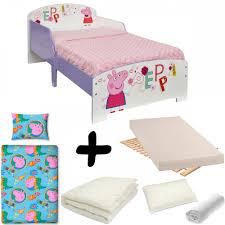 Peppa Pig Bedroom Stuff Peppa Pig Junior Bed Mattress Bedding Bundle Great