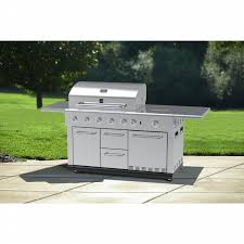 kenmore elite grill island. kenmore 5 burner island gas grill with refrigerator elite e