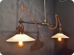 vintage lighting pendants. Pendant Lighting Vintage. Stunning Vintage Industrial Double Shade Ceiling Sconce - Machine Age Flat Pendants