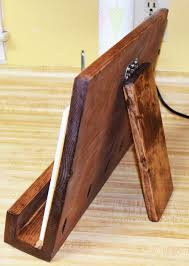 diy recipe book stand new wooden ipad stand ipad holder holz ipad ständer ipad halter