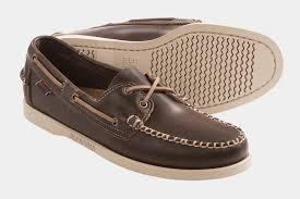 sebago docksides leather boat shoes