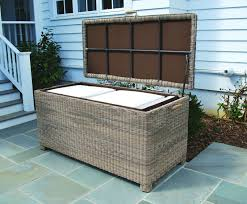 wicker storage box kingsley bate the patio pertaining to cushion boxes outdoor furniture decorations 0