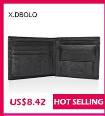 Buy <b>X.D.BOLO Wallet Men Leather</b> Genuine Cow Leather Man ...