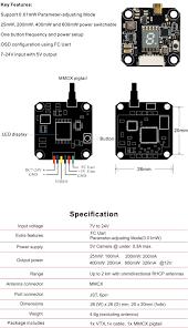 akk x3 40ch switchable power video transmitter vtx 5 8ghz Residential Electrical Wiring Diagrams at X3 Ucav Wiring Diagram