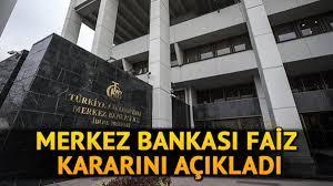 Son Dakika.. Merkez Bankası faiz kararı açıklandı! 2021 Merkez Bankası faiz  kararı ne oldu?