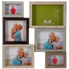 multi color collage wall frame hobby