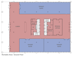 able area measured as able square feet rsf