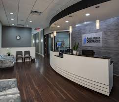 chiropractic office interior design. Delighful Interior Chiropractic Entryway Office Lighting Front  Desk  And Interior Design