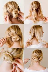 Easy Braided Updos For Short Hair Hairstyle Pop