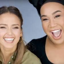 Jessica Alba Trades Makeup Looks With Patrick Starrr in YouTube Debut - E!  Online