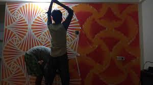 Diwaro Pe Design New Texture Idea Wall Designs Royal India Services