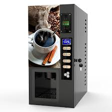 Coffee Vending Machine Premix Powder Gorgeous Commercial Fully Automatic Instant Coffee Machine Premix Vending