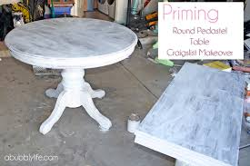 a bubbly lifehow to paint a dining room table chairs makeover reveal a bubbly life