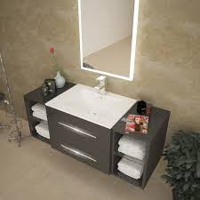 bathroom sink cabinets. Plain Cabinets 1170 Wide Grey Bathroom Sink Vanity In Bathroom Sink Cabinets O