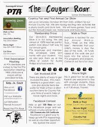 7 School Newsletter Templates Free Sample Example Format Best Resume