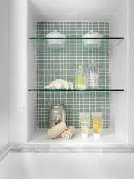 bathroom tempered glass shelf: tempered glass shelves niche photos aedada  w h b p traditional bathroom