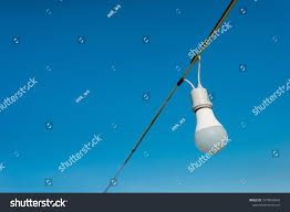 Fishing String Lights String Lights During Blue Sky Background Stock Photo Edit