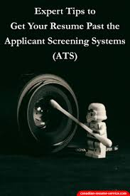Expert Tips To Get Your Resume Past The Applicant Tracking Systems