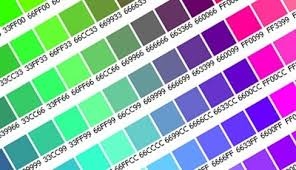 Photoshop Color Chart 35 Most Wanted Cheat Sheets For Web Designers And Developers