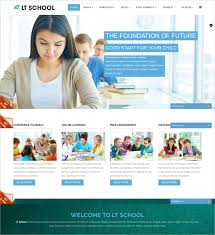Free Online Template 27 Free Education Website Themes Templates Free Premium Templates