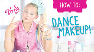 how to create jojo siwa s dance makeup makeup tutorial claire s you
