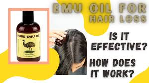does emu oil work for hair loss