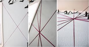 Giant Yarn Spider Web