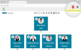 Simple Org Chart Builder Org Chart Creator Org Chart Software Orgweaver