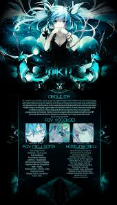 mal profile layouts miku layout by yorium on deviantart