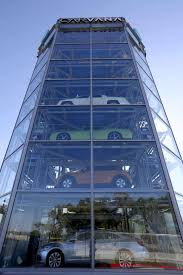 Carvana Vending Machine Locations Cool 48story Car Vending Machine Opens In San Antonio San Antonio