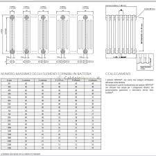 Radiatori in acciaio tubolare cordivari ardesia 3 colonne da 3 a