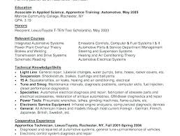 Automotive Technician Resume Best Resume For Auto Mechanic Automotive Technician Resume Sample Sample