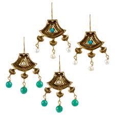delights lighting. Turkish Delights Earrings: Fan Chandelier Drops (Two Colors) Lighting