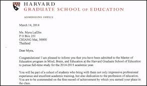 Cover Letter For Business School Admission