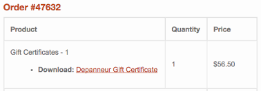 Downloadable Coupons Redeeming Depanneur Gift Certificates Or Discount Coupons The