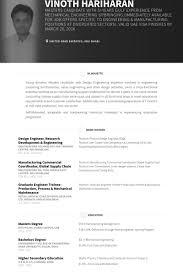 Instrumentation Design Engineer Sample Resume 18 Design Engineer Research  Development Engineering Resume Samples