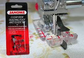 I need this presser foot! I wonder if the Janome store near me ... & I wonder if the Janome store near me carries it Adamdwight.com