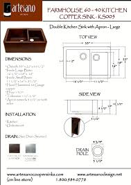 farm sink dimensions.  Farm View Complete Sink Dimensions Intended Farm A
