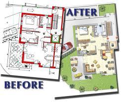 floor plan software. Before After Floor Plan Software