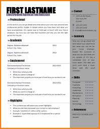 10 Download Free Resume Templates For Microsoft Word Richard Wood Sop