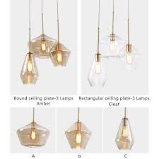 details about kitchen island pendant light bar ceiling lights glass chandelier lighting